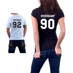 Pro páry, Pistorius,Steenkamp - Dámské Tričko s vtipným potiskem