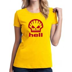 Hell - Dámské Tričko s vtipnou potlačou
