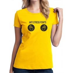 Anti Stress Points - Dámské Tričko s vtipnou potlačou