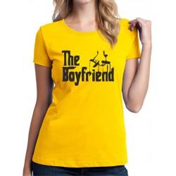 The Boyfriend - Dámske Tričko s vtipnou potlačou