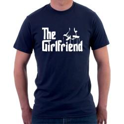 The Girlfriend - Pánske Tričko s vtipnou potlačou