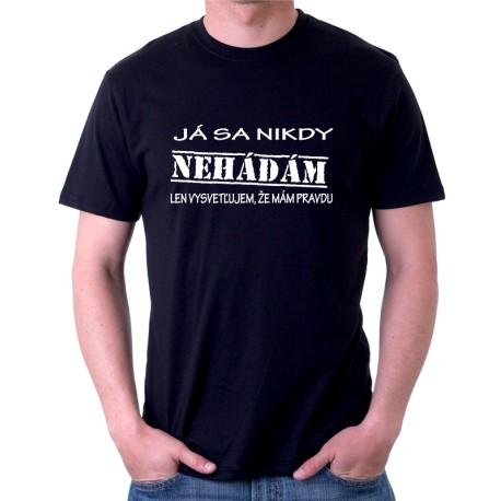 aea8726aa78f Pánske tričko s vtipnou potlačou