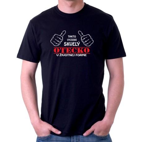 Pánske tričko s vtipnou potlačou