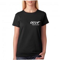0014, Dvakrát tak dobrý - Dámske Tričko s potlačou