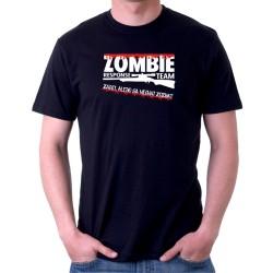 Zombie responce team - zabij, alebo sa nechaj zožrať - Pánske tričko s vtipnou potlačou