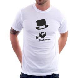 Gentleman - Pánske tričko s potlačou pre páry