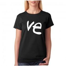 Ve - Dámske tričko s potlačou pre páry