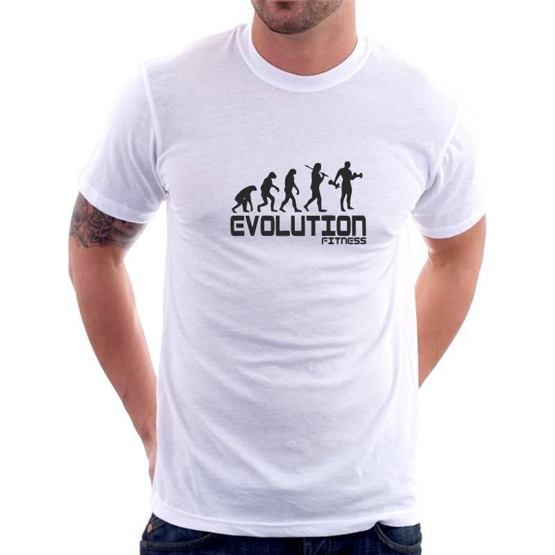 e88d98ad24b0 Evolution Fitness - Pánske tričko s potlačou