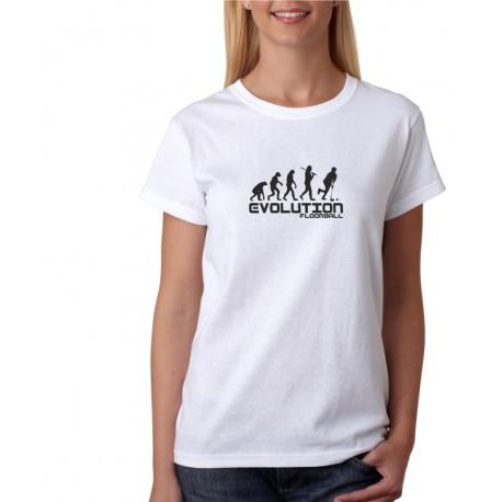 Evolution Floorball - Dámské tričko s potlačou