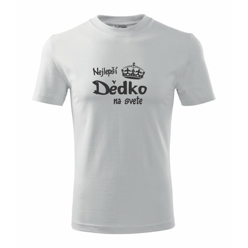 Najlepší Dedko na svete- Pánske tričko s potlačou pre rybárou ... 2e6e29265b7