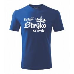 Najlepší Strýko na svete - Pánske tričko s potlačou ako darček