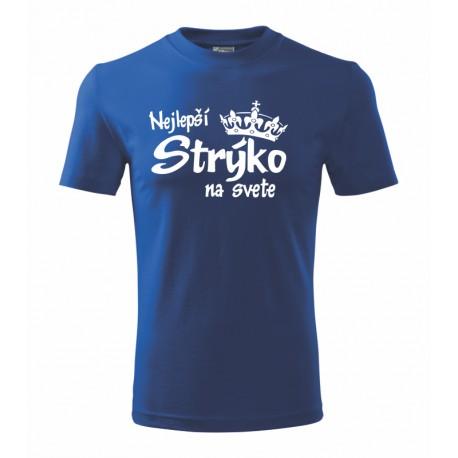 Nejlepší Strýko na svete - Pánske tričko s potlačou ako darček