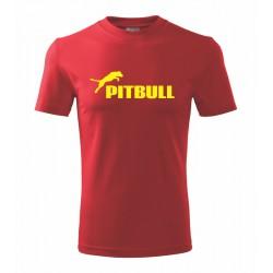 Pitbull - Pánské tričko s potlačou Pitbull