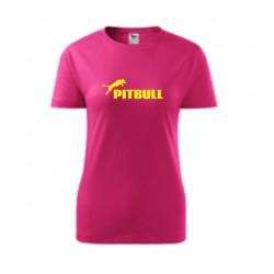 Pitbull - Dámské tričko s potlačou Pitbull