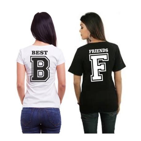 189eb1908d1 Best - B- Dámské tričko s potlačou pre najlepšie kamarádky