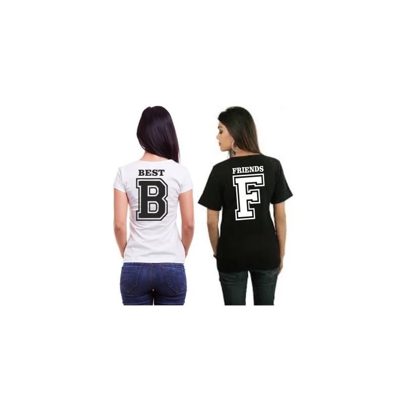 fdd845750c4 Friends - F - Dámské tričko s potlačou pre najlepšie kamarádky
