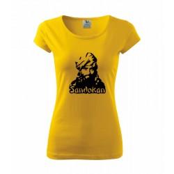 Sandokan - Dámské tričko s potlačou Sandokana