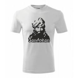 Sandokan - Pánske tričko s potačou Sandokana