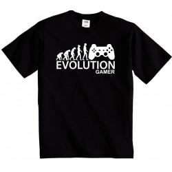 Evolution Gamer - Pánské tričko evolucia hráča