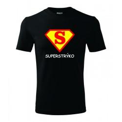 Super strýko, superman štyl - Pánske darčekove tričko, originalni darček pre strýka