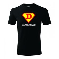 Super Dedko, štyl supermana - Pánske darčekove tričko, originalni darček