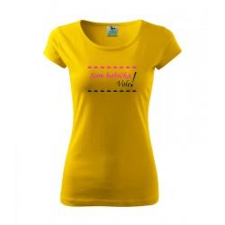 Som Babička vole! Dámske tričko, darčekove vtipne tričko
