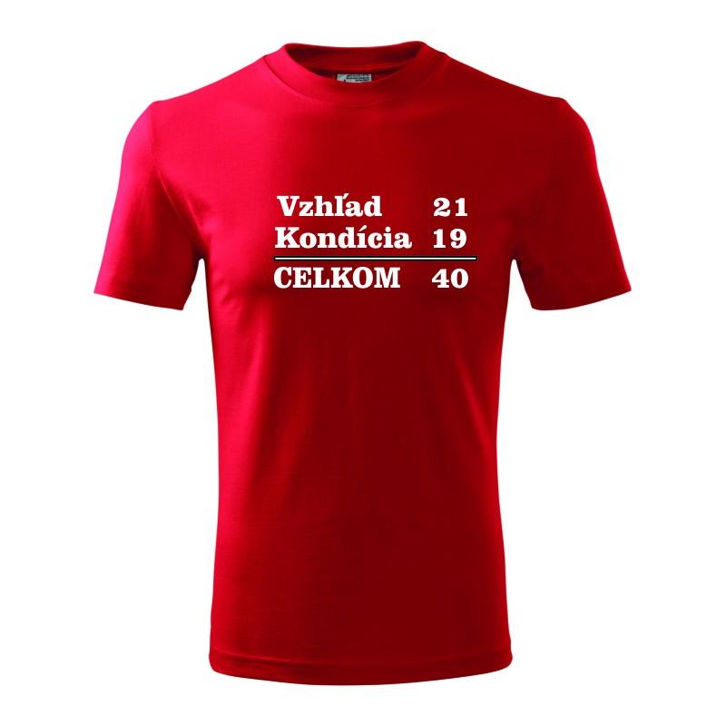 549ba10bfe5c Originalne narodeninové tričko k 40-tke. Pánske darčekove tričko