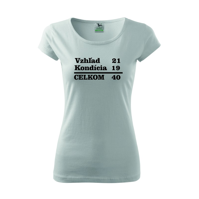 3cee875fd850 Originalne narodeninové tričko k 40-tke. Dámske tričko