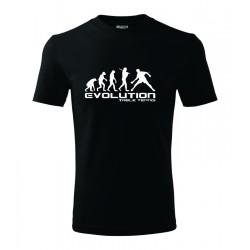 Evolúcia stolný tenis - Pánske darčekove tričko, originalni darček