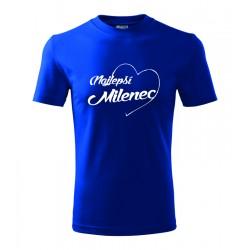 Najlepší Milenec v srdcu. Pánske darčekove tričko, originalni darček pre milenca