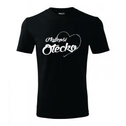 Najlepší otecko v srdcu. Pánske darčekove tričko, originalni darček pre otecka