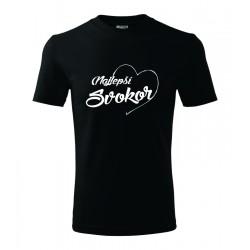 Najlepší svokor v srdcu. Pánske darčekove tričko, originalni darček pre svokra