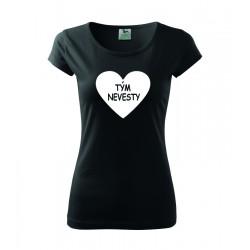 Tým nevesty - Dámské tričko s potlačou pre tým nevesty