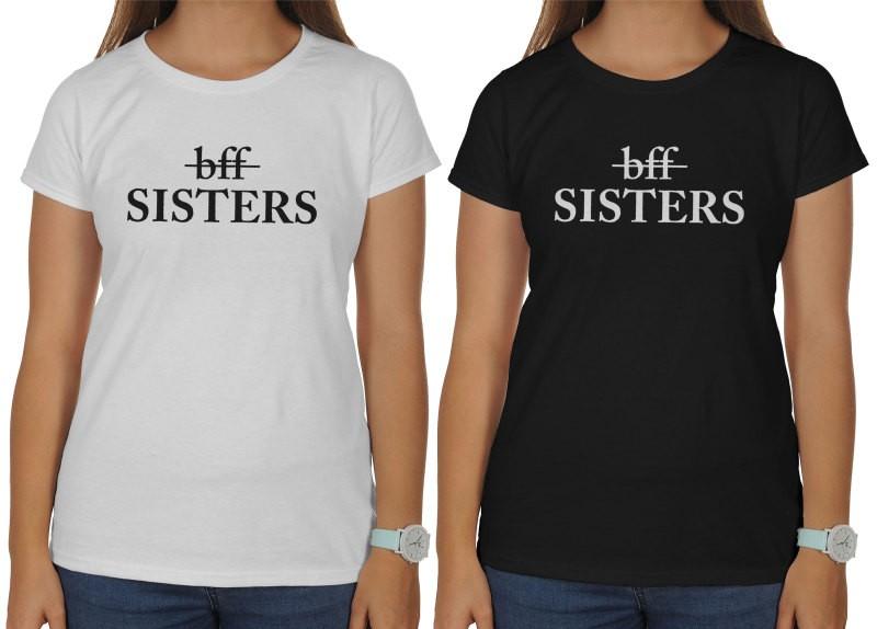 a36d2d15225 Bff Sisters. Dámske tričko