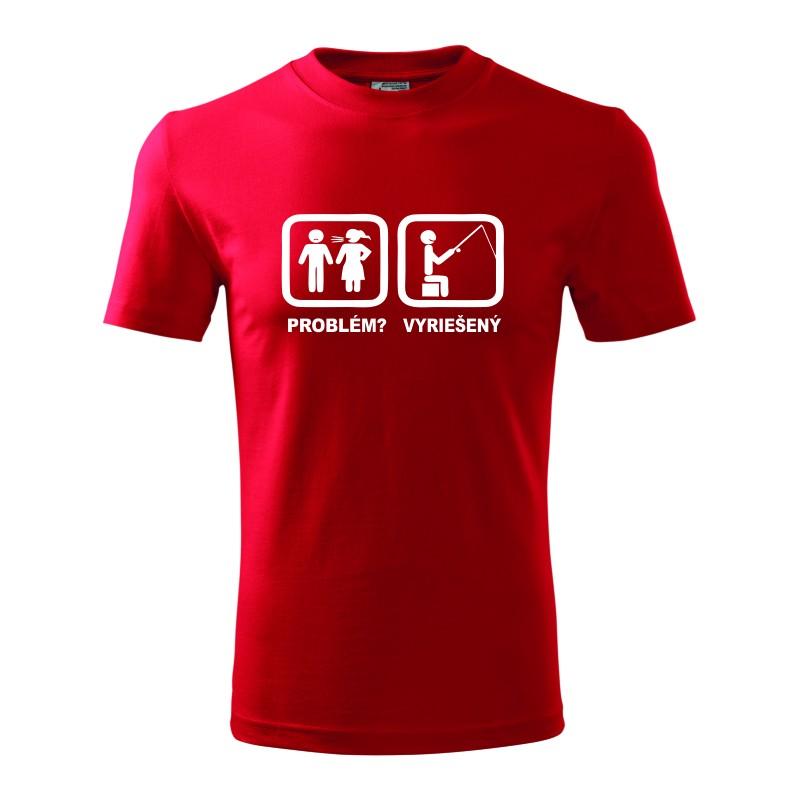 05ec3caea8ca Problém  Vyriešený - Pánske tričko vhodné ako darček pre rybárov.