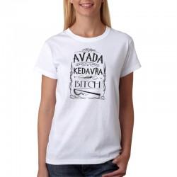 Avada Kedavra - Dámske Tričko s vtipnou potlačou