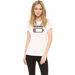 Maminka - Dámske vtipné tričko s potlačou