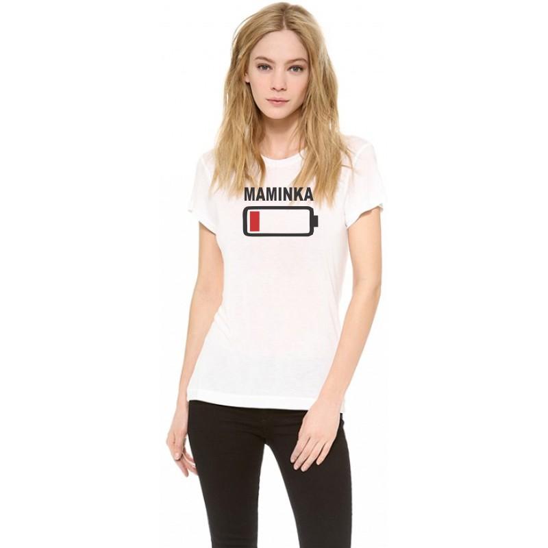 0003b0fa2e04 ... Maminka - Dámske vtipné tričko s potlačou