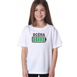 Dcéra - Tričko z rodinnej kolekcie pre deti
