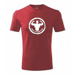 100% steroid free - Pánske tričko s potlačou vhodne ako darček
