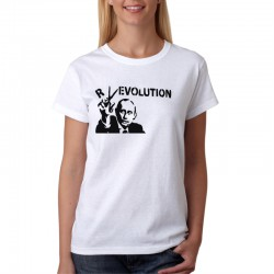 Putin Revolution - Dámske Tričko s vtipnou potlačou