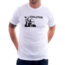 Putin Revolution - Pánske Tričko s vtipnou potlačou