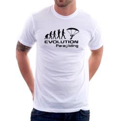 Evolution Paragliding - Pánské Tričko s vtipnou potlačou