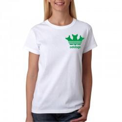 AdiDogs - Dámske Tričko s vtipnou potlačou