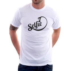 Selfie - Pánske Tričko s vtipnou potlačou