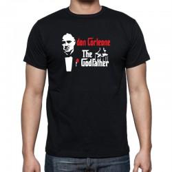 Don Corleone, The Godfather- Pánske Tričko s vtipnou potlačou