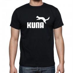 Kuna - Pánske Tričko s vtipnou potlačou
