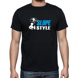 Slope Style - Pánske Tričko s vtipnou potlačou