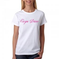 Carpe Diem - Dámske Tričko s vtipnou potlačou