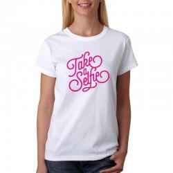 Take a Selfie - Dámske Tričko s vtipnou potlačou